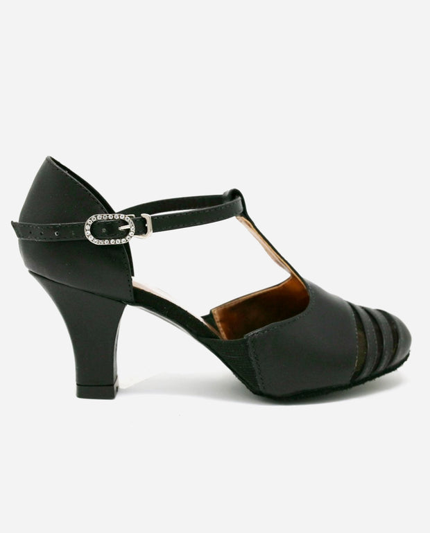 T-strap Ballroom Shoe - BL 186 - So Danca