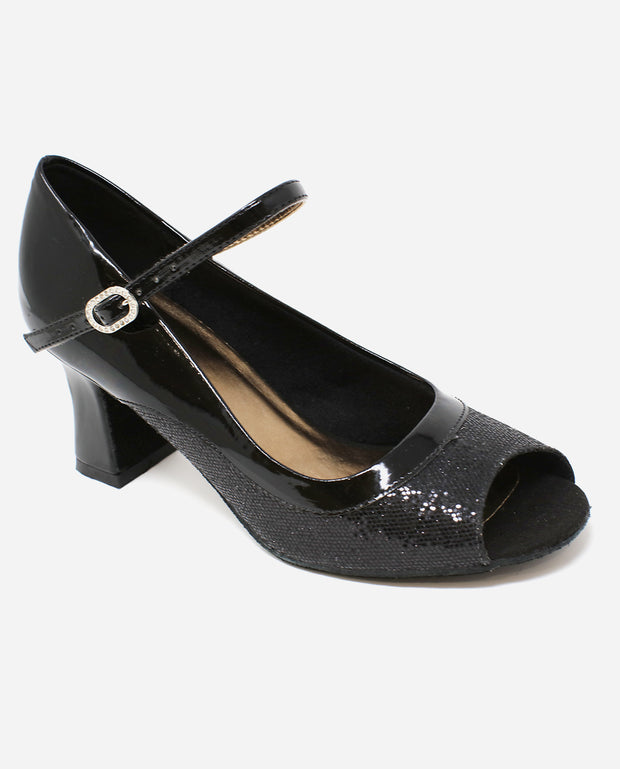 Peep-Toe Ballroom Shoe - BL 194 - So Danca