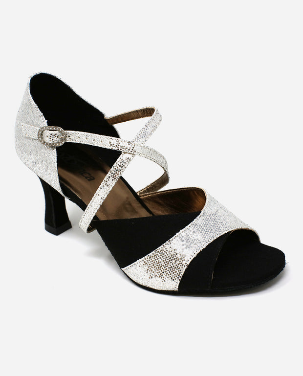 Sparkly Salsa Shoe - BL 196 - So Danca