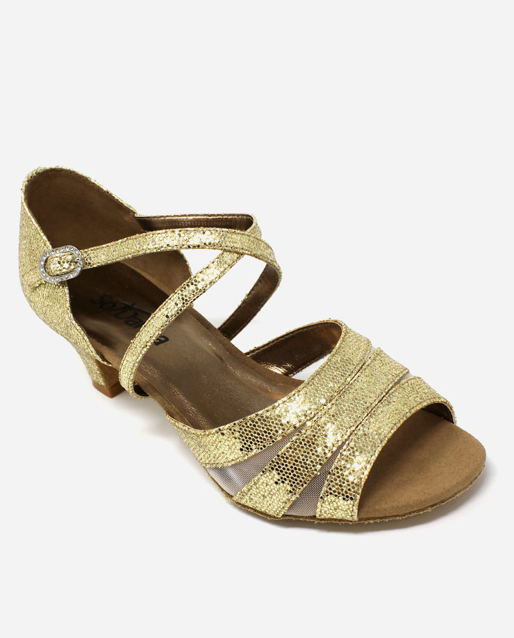 Gold Ballroom Sandal - BL 198 - So Danca