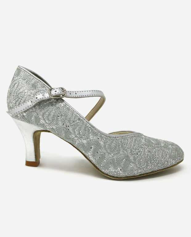 Asymmetric Ballroom Shoe - BL 504 - So Danca