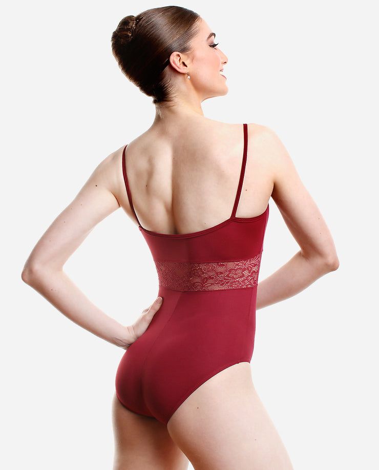 Cut-Out Camisole Leotard - E 11213 - So Danca