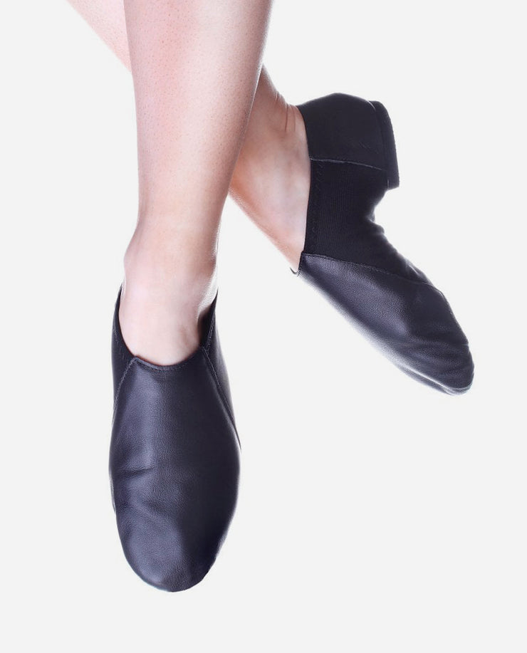 Child's Split Sole Low Cut Black Jazz Boot - JZE 45 - So Danca