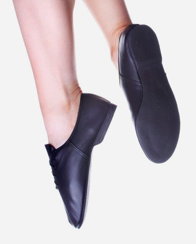 Full Sole Laced Jazz Shoe - JZE 16L - So Danca