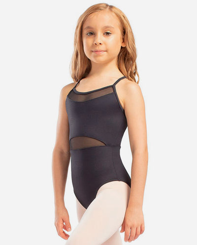 Girl's Mesh-cutout Camisole Leotard - L 1837 - So Danca