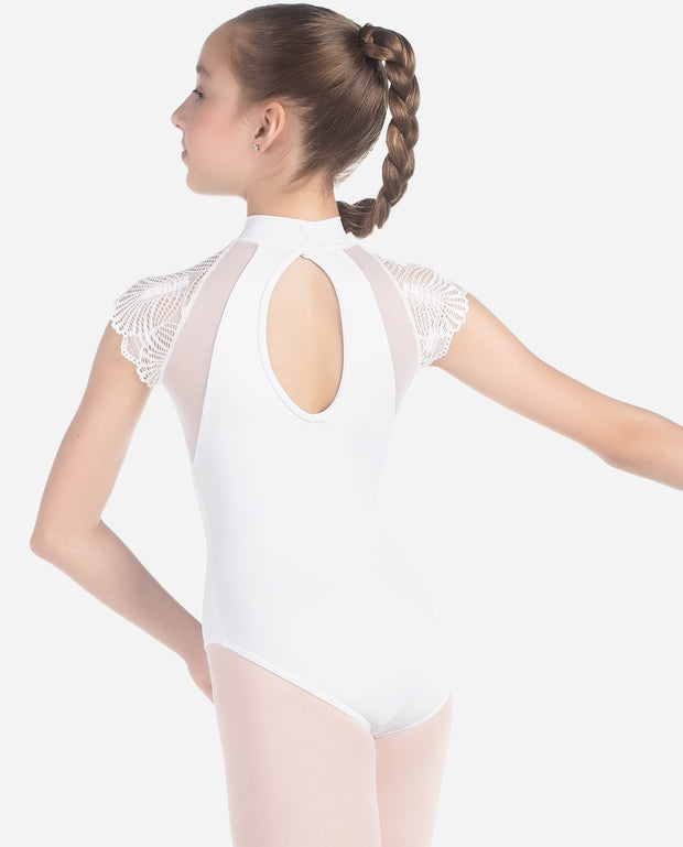 Fan-sleeve Girl's Leotard - L 2019 - So Danca