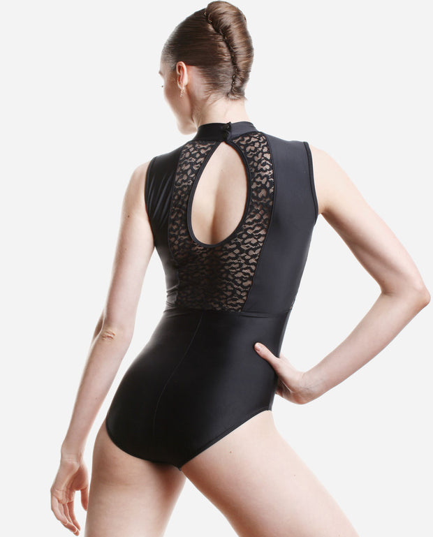 High Neck Halter Leotard - PL 2030 LE - So Danca