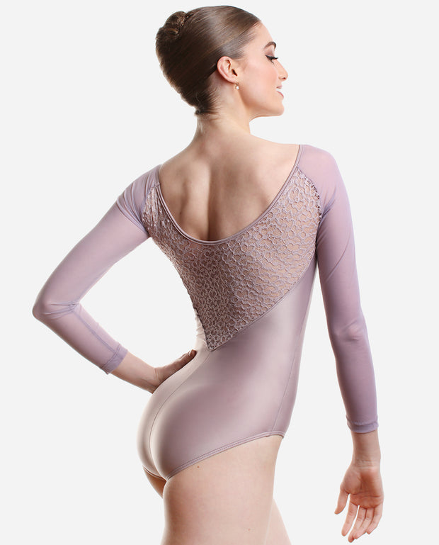 Long-sleeved leotard - PL 2035 LE - So Danca