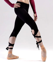 Tie Leg Dance Leggings - RDE 1656 - So Danca