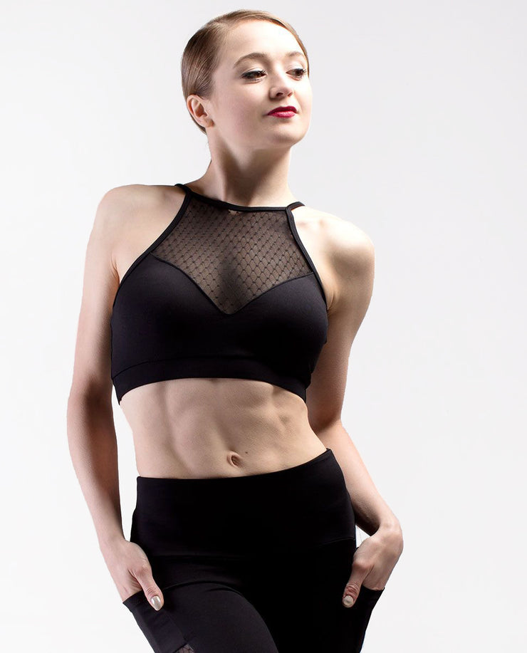 Mesh Crop Top - RDE 1892 - So Danca