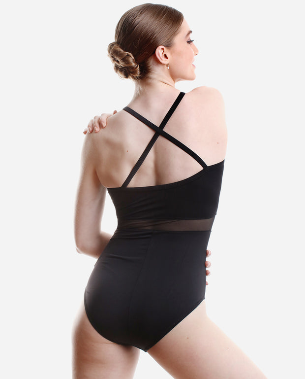 Web Mesh Overlay Leotard - RDE 1909 - So Danca