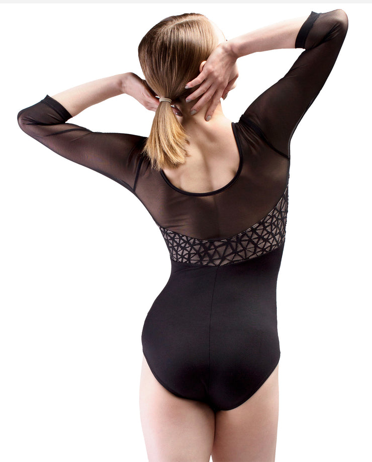 ¾ Length Sleeve Leotard - RDE 1910 - So Danca