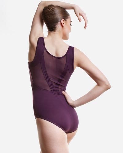 Mesh-back Tank Leotard - RDE 1958 - So Danca