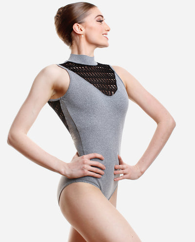 Macramé Turtle-neck Leotard - RDE 2013 LE - So Danca
