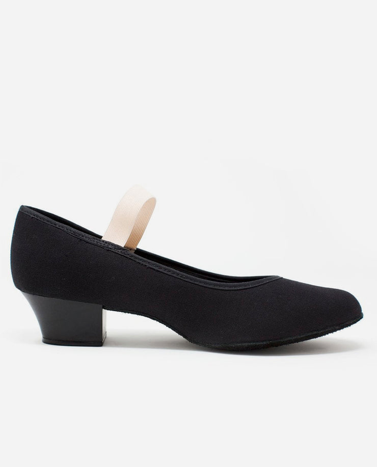 Cuban Heel Canvas Ballet Character Shoes - RO 14L - So Danca