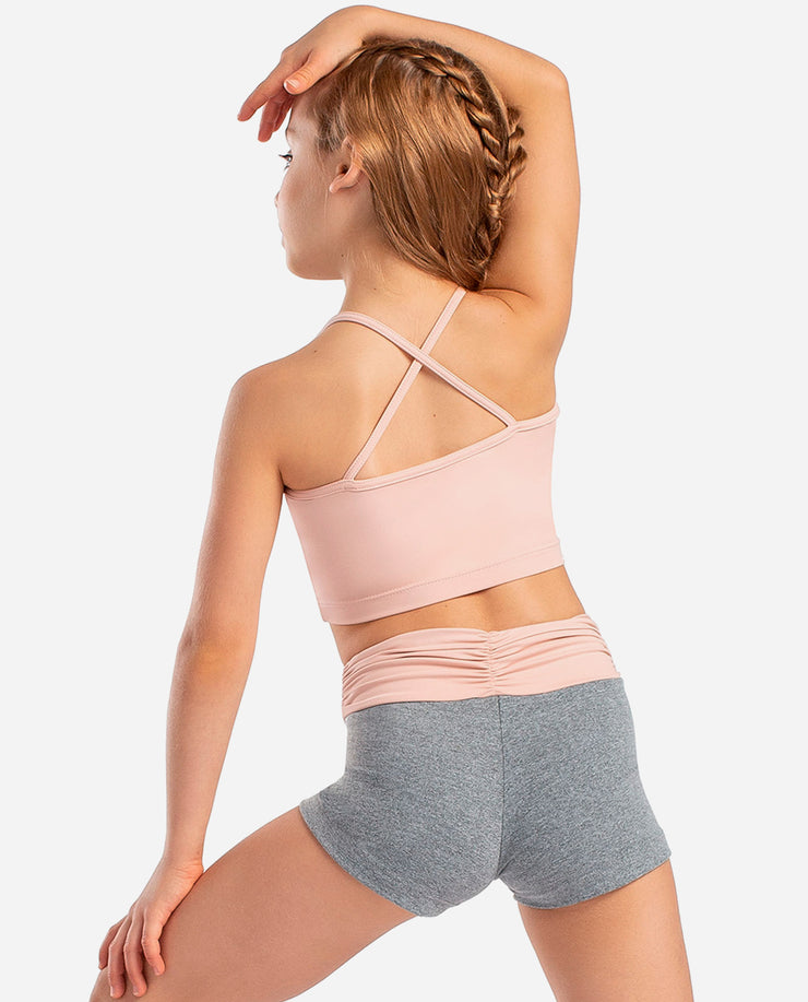L 1629/1631 LE Top/Shorts Twin Set - So Danca