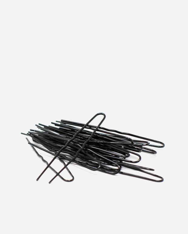 Black Waved Hair Pins - TH 042 - So Danca