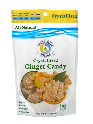 Crystallized Ginger Candy