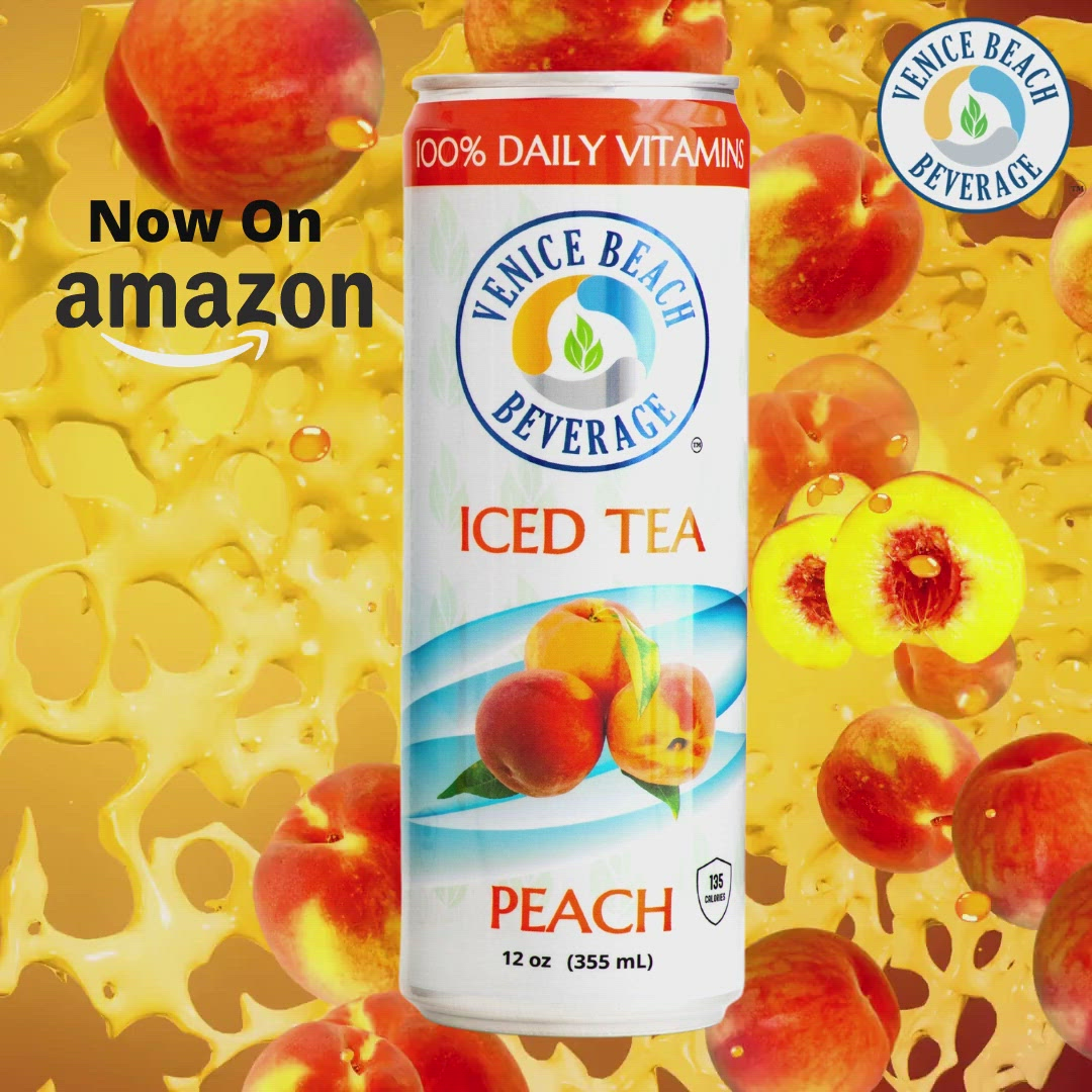 Original Peach Vitamin Iced Tea