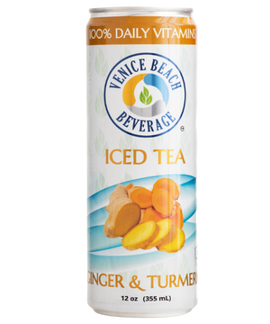 Open image in slideshow, Original Ginger & Turmeric Vitamin Iced Tea