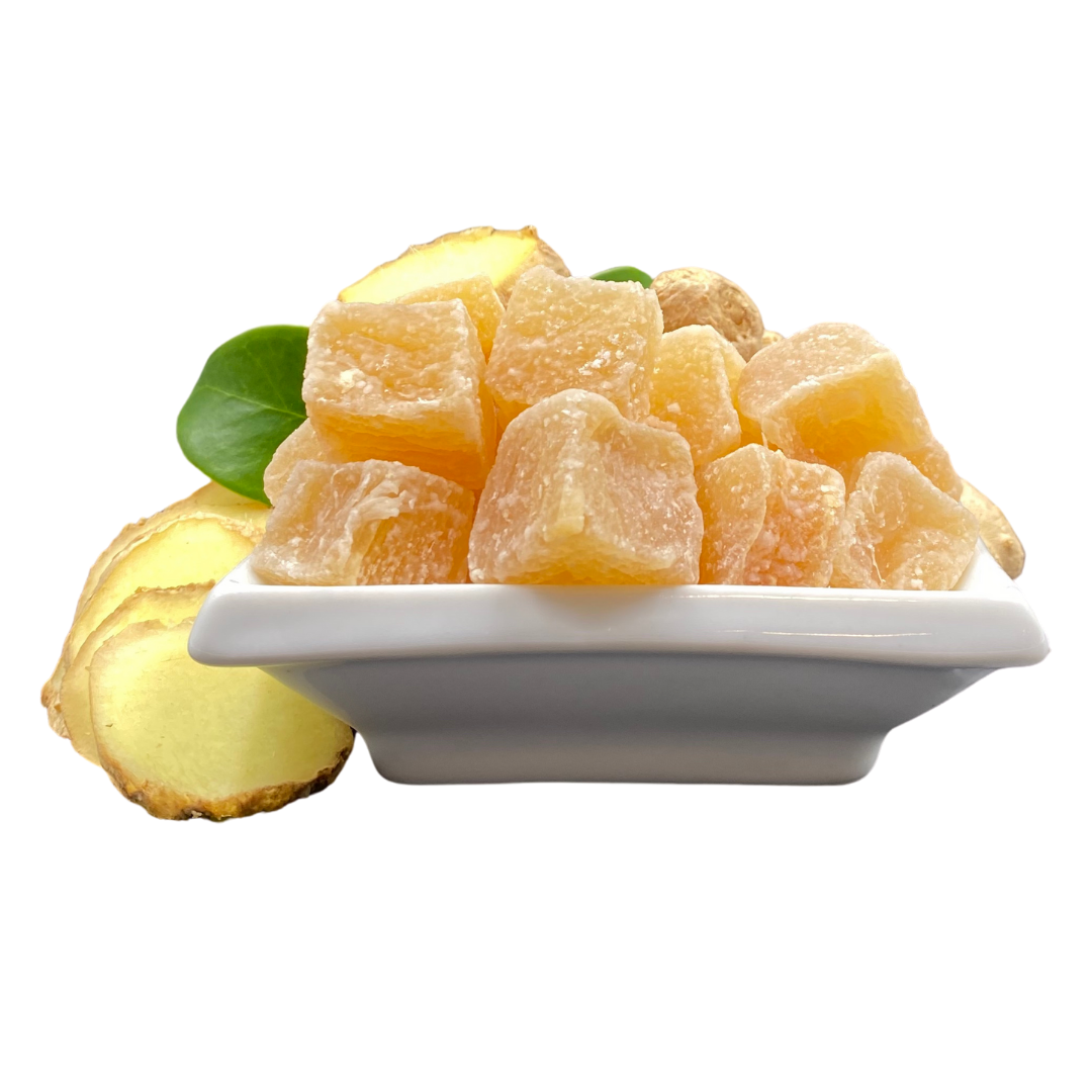 Naked UnCrystallized Ginger Candy