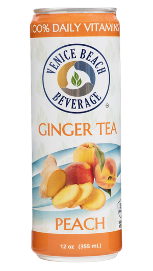 Open image in slideshow, Ginger & Peach Vitamin Iced Tea