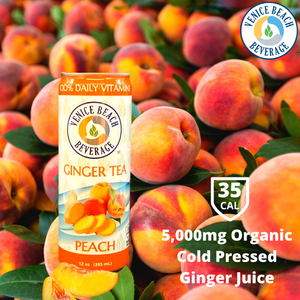 Ginger & Peach Vitamin Iced Tea