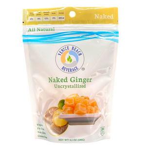 Open image in slideshow, Naked UnCrystallized Ginger Candy