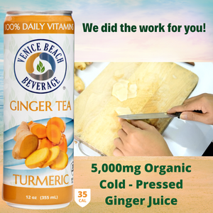 Original Ginger & Turmeric Vitamin Iced Tea