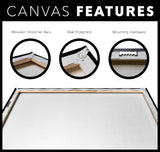STRETCHED CANVAS - OPEN WIDE - Canadian Polar Bear Habitat Market