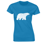 PREMIUM COTTON TEE - WOMEN - WHITE BEAR - Canadian Polar Bear Habitat Market