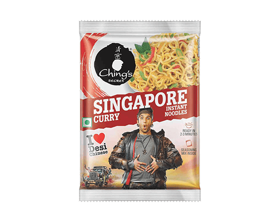 Ching's Singapore Curry Instant Noodles 240g/8.46oz