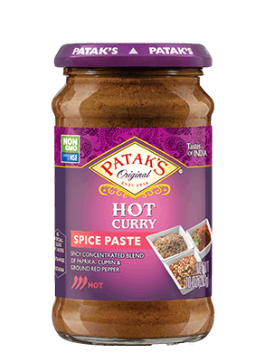 Patak's Hot Curry Spice Paste 10oz