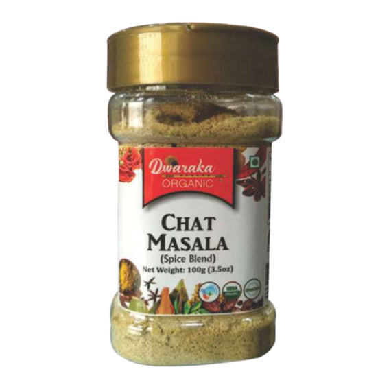 Dwaraka Organic Chaat Masala Powder 100gm