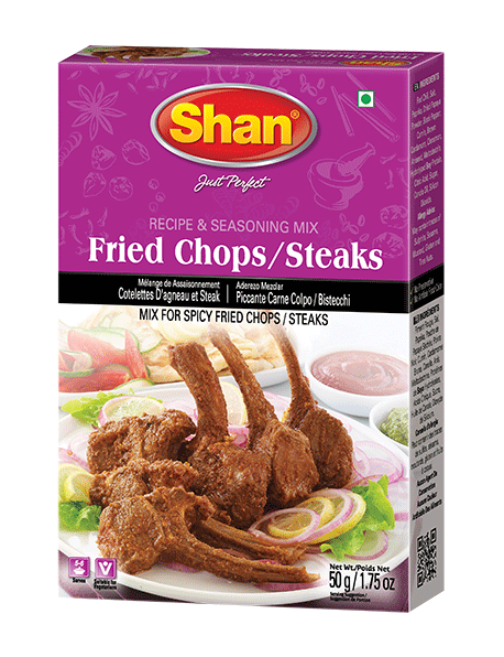 Shan Fried Chops/Steaks Recipe & Seasoning Mix 50g