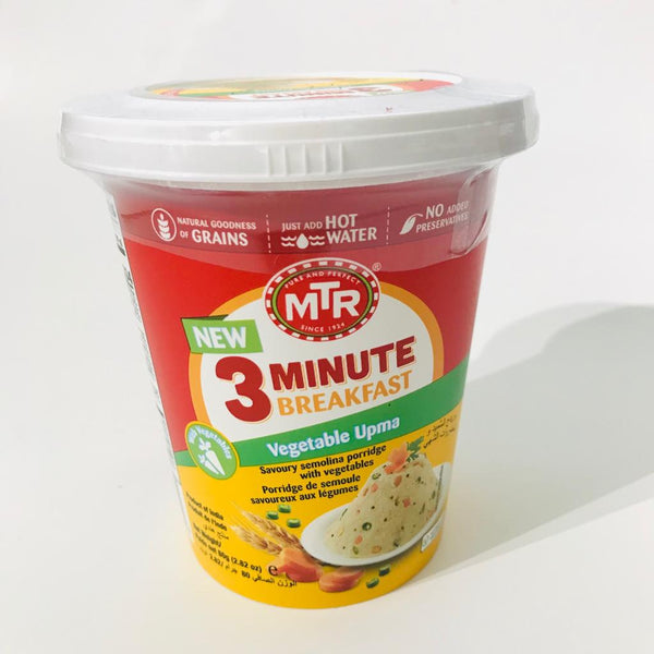 MTR Vegetable Upma Cup 80g