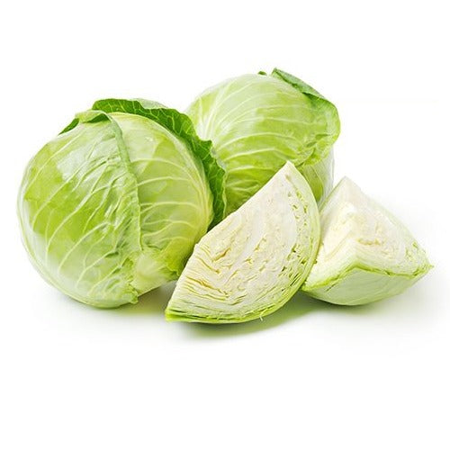 Bulk Wholesale Green Cabbage 3 Pieces