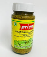 Priya Green Chilli Pickle With Garlic 300g