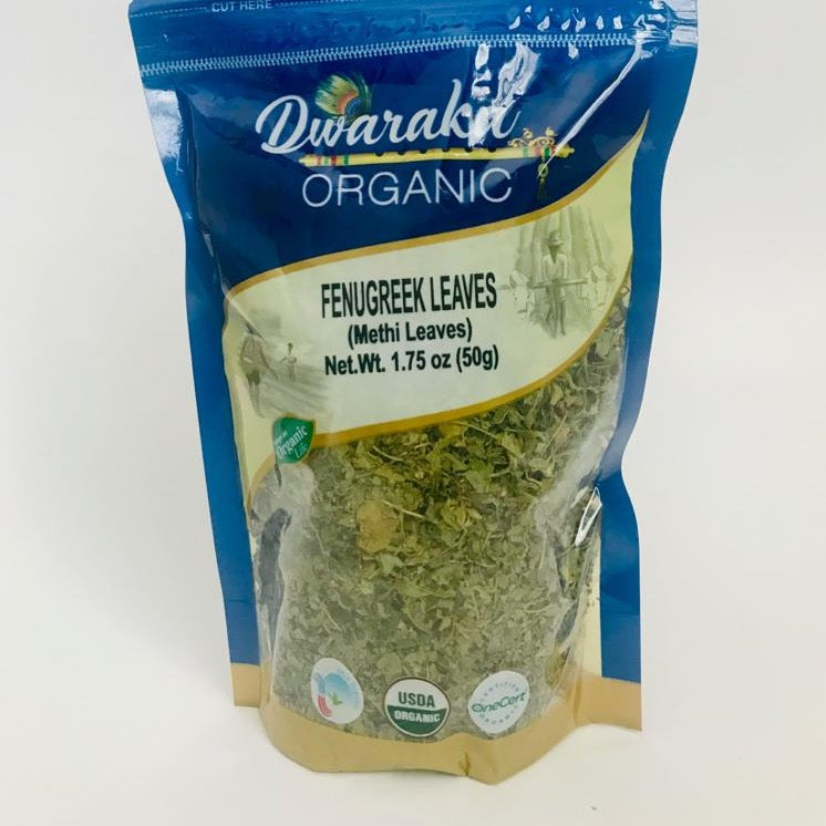 Dwaraka Organic Fenugreek Leaves 50g