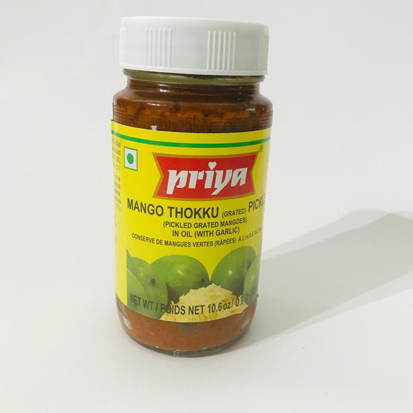 Priya Mango Thokku/Grated Mango Pickle 300gm