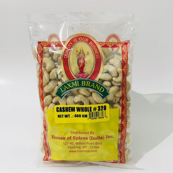Laxmi Cashew Whole 400gm