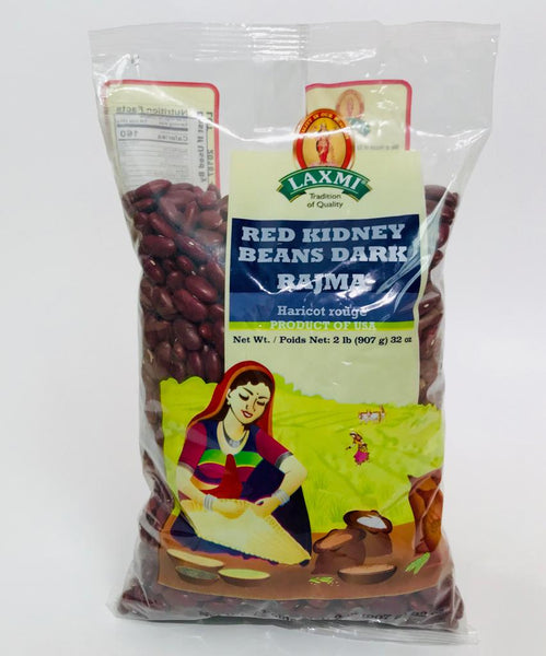 Laxmi Red Kidney Beans Dark/Rajma - 2lb