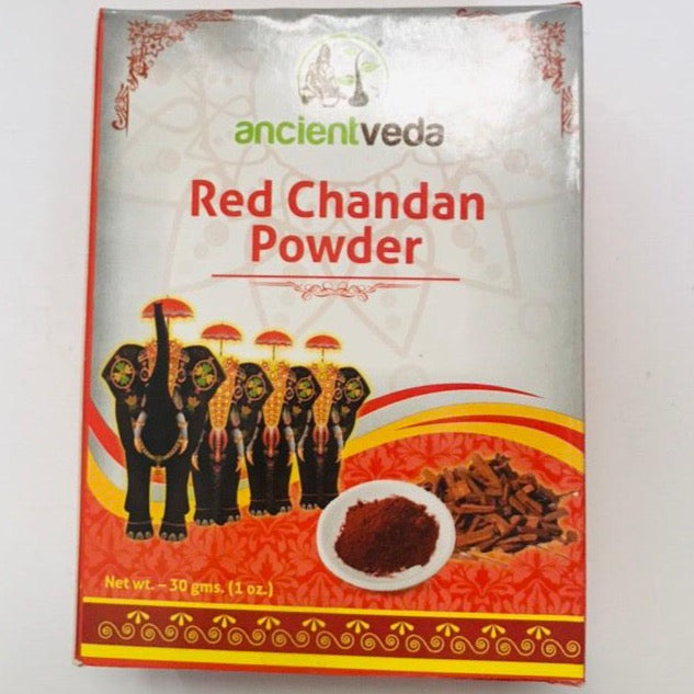 Ancient Veda Red Chandan Powder - 30gms