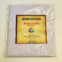 Pooja Cloth White 36""