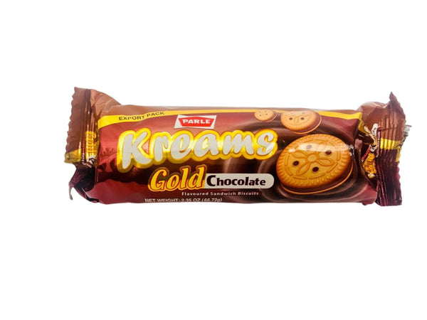 Parle Kreams Gold Chocolate 66.72g/2.35oz