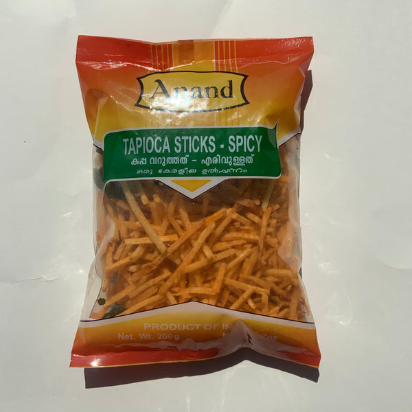 Anand Tapioca Sticks Spicy 200g