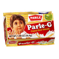 10 Packs Parle-G Original Glucose Biscuits 56.44gm/1.99oz