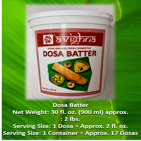 Dosa Batter - 30oz
