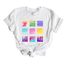 Load image into Gallery viewer, Water Color Paint Swatch T-Shirt