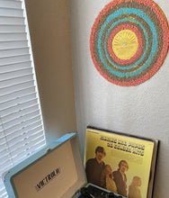 Load image into Gallery viewer, Beaded Vinyl Record Art - Canyon Sun - One of a Kind